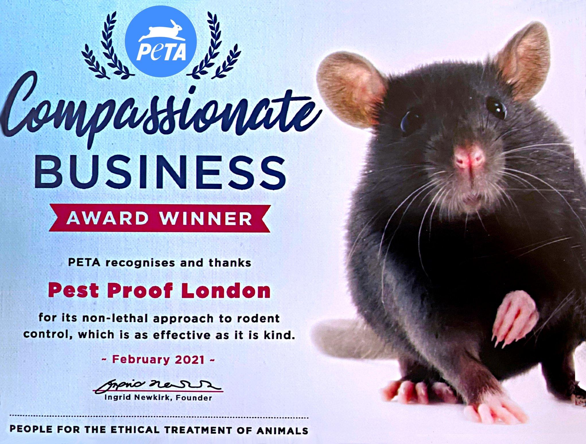 PETA Approved Pest Control